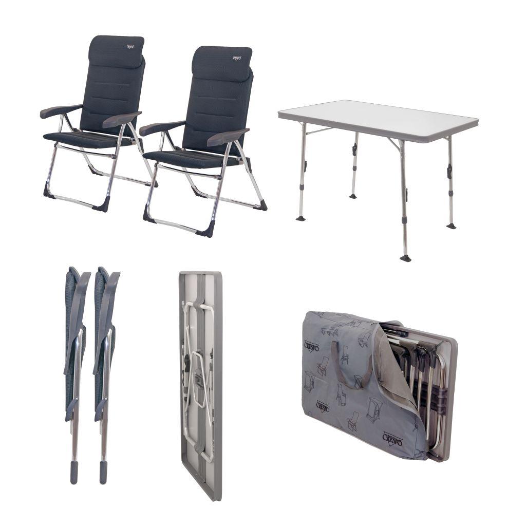 Crespo Valencia szék és asztal szett Kempingcikk Szakáruház